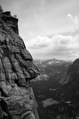 Upper Yosemite Fall View