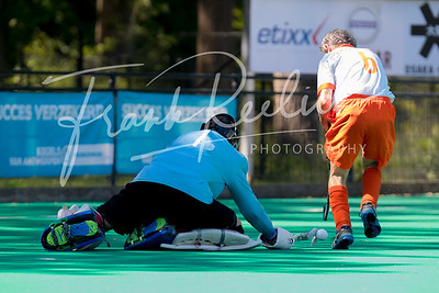 2019 EC WGMA at KHC Dragons, Brasschaat, Belgium  Day 11  Match Men FIN O70 ENG-NED 29-6-2019