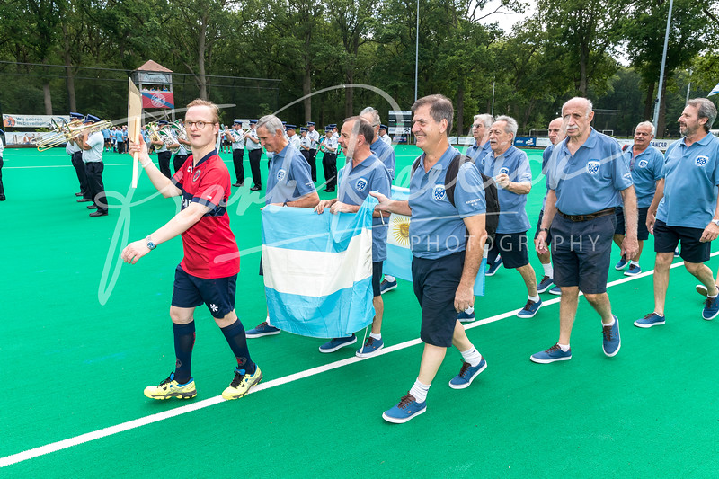 2019 EC WGMA  at KHC Dragons , Brasschaat, België Opening Ceremony 20190619
