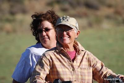 Commander Karen and Linda McDonald