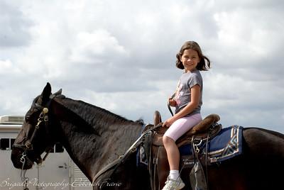 Super Model Kaitlyn riding.