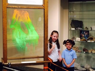 1st Grade Visits Perkins Geology Museum at UVM
