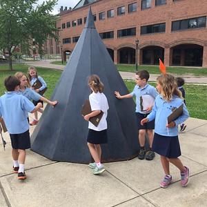 2nd Grade Visits Fleming Museum (6.8.16)