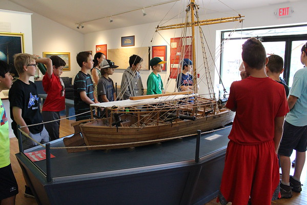6th Grade Visits Maritime Museum