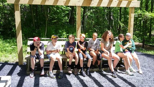 7th Grade's Camp Abnaki Trip (6.8.16)