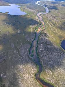 The Meandering Davidson River