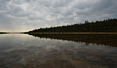 Stormy Saddle Lake