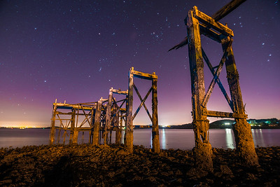 The Old Pier at Aberdour