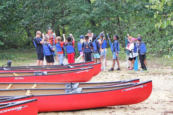 Fifth Grade Canoe Trip - September 2018