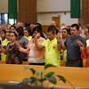 "DIOCESAN V ENCUENTRO—The Diocesan V Encuentro (""Encounter"") was held Sept. 30 in Our Lady of the Lake Parish in Branson, and included Mass celebrated by Bishop Edward Rice. (Photo by Dean Curtis/<i>The Mirror</i>)"