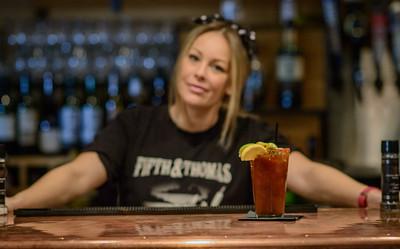 Amanda Serves a Bloody Mary