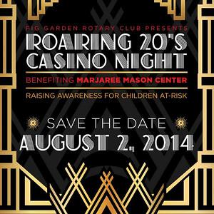 Fig Garden Rotary Casino Night August 2014