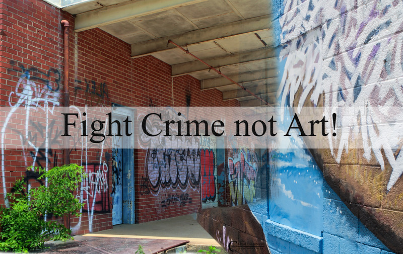 Fight Crime Not Art!