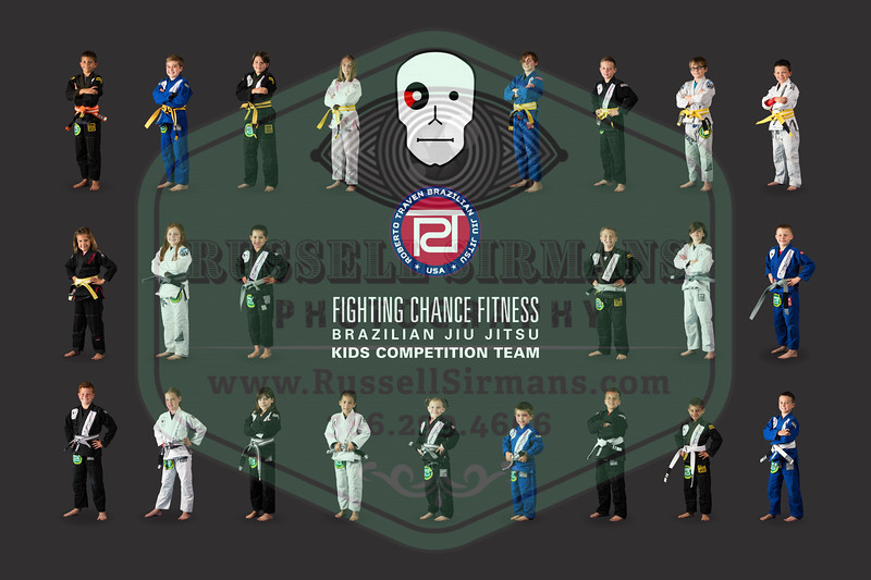 2018 FCBJJ (23) Kids Comp Team Photo 30x20