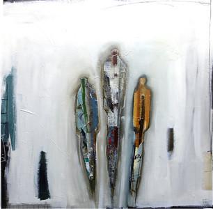 Imprints III-Irvin, 36x36 on canvas