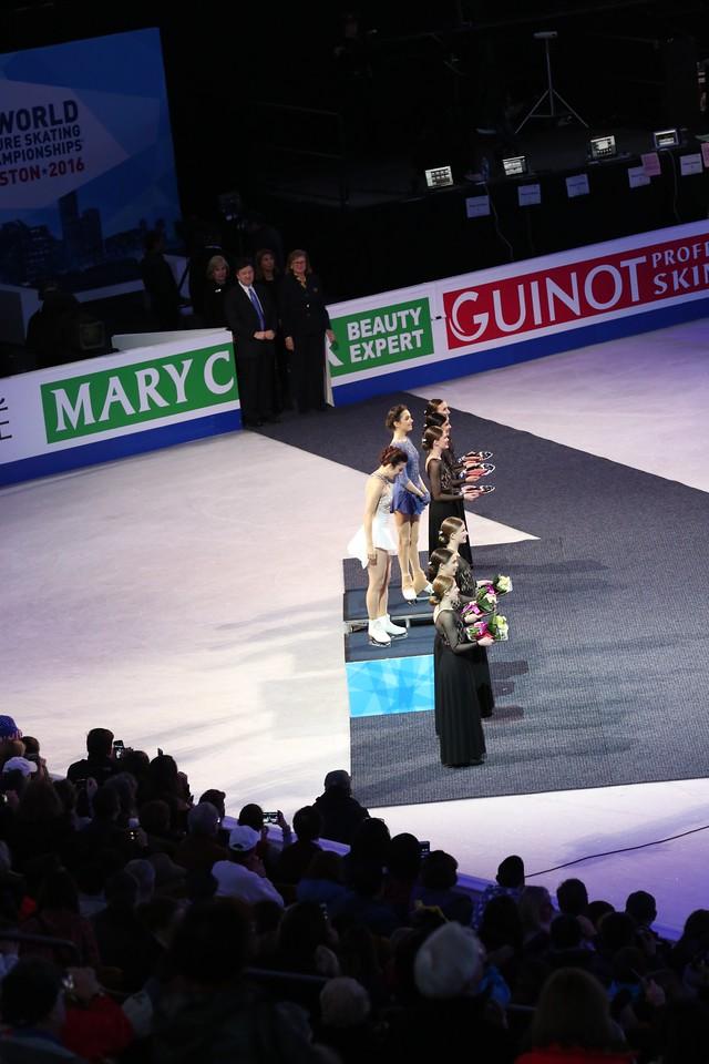 2016 World Championships Ladies Awards