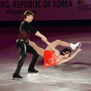 Liubov Ilyushechkina and Dylan Moscovitch