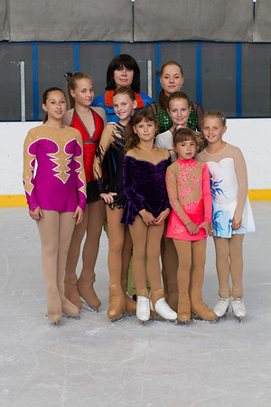 BK Variace 2012 - treneri a deti