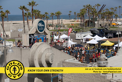 Muscle Beach Venice - Gold's Gym - Venice Paparazzi