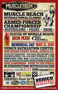 For more Figure and Bodybuilding information at Muscle Beach gym, visit. http://www.musclebeachvenice.com  or Muscle Beach Gym in Venice at 1800 Ocean Front Walk Venice, CA 90291. Office: 310.399.2775. Meet Promoter: Joe Wheatley.http://www.musclebeachvenice.com.