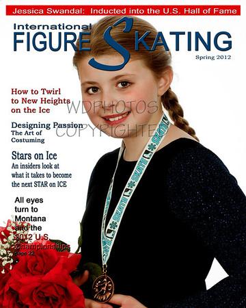 Figure Skating Mag Jessica Swandal 5cover