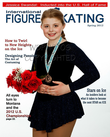 Figure Skating Mag Jessica Swandal 4cover