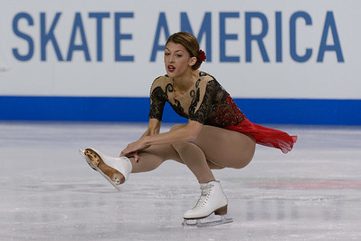 Hilton HHonors Chicago Skate America Ladies Free Skating @ Sears Centre 10.26.14
