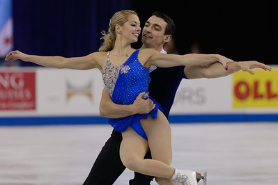 Hilton HHonors Chicago Skate America Pairs Free Skating @ Sears Centre 10.26.14