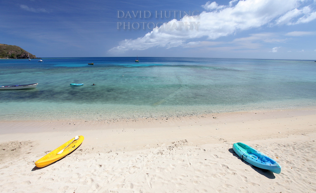 Kayak Blue Beach View