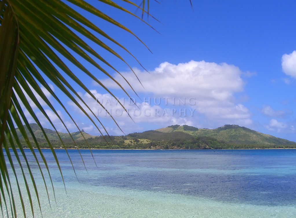 Tropical View at the Blue Lagoon