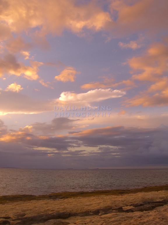 Sunset Skies in Fiji