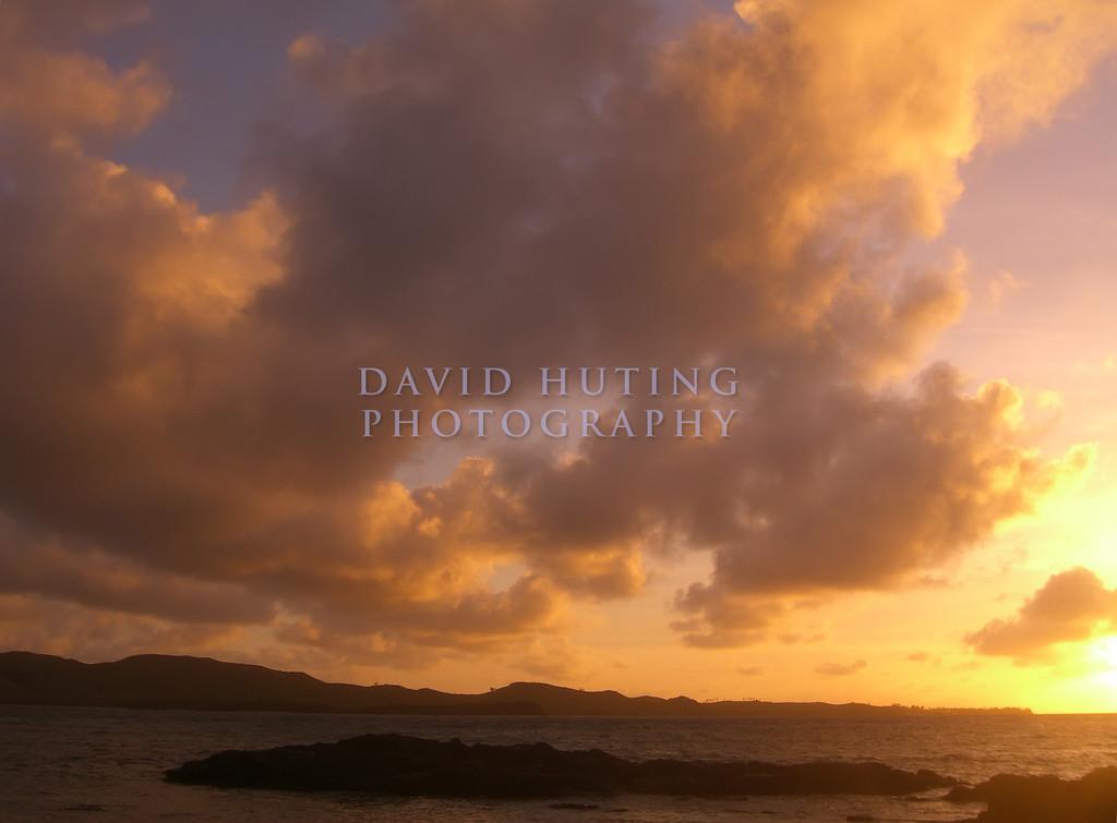 Warm Sunrise in Fiji