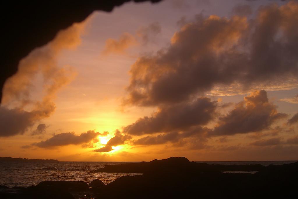 Sunrise Cave View