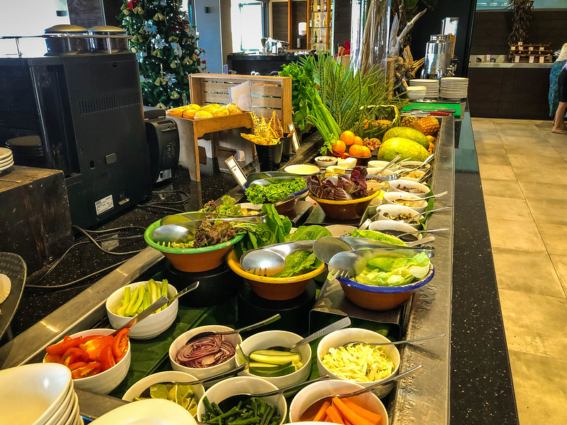 koro breakfast buffet