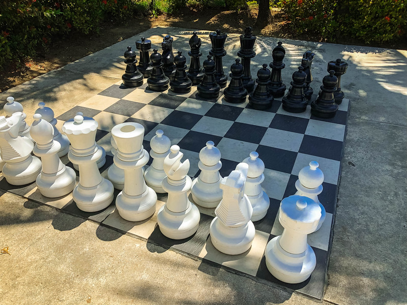 hilton fiji chess board