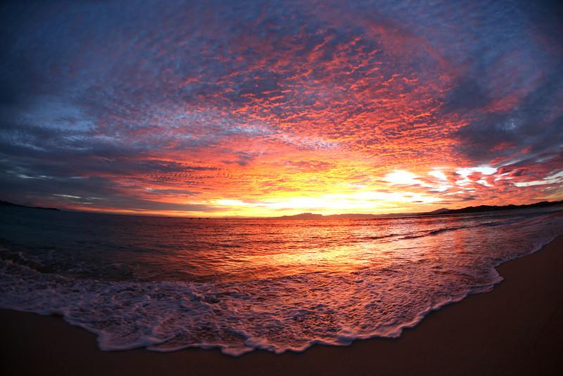 Sunrise symmetry