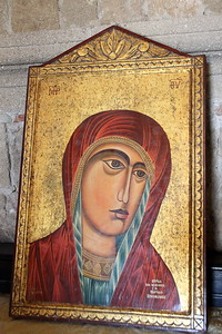 Another icon in the church.