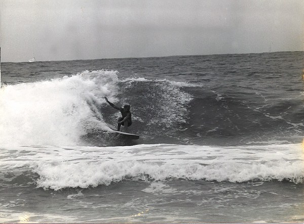 Surfing Mission Beach 1974