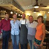 From left, Rick Quinazzo of Acton, Paolo Filho of Burlington, Vt., Executive Chef Anthony De Palma of Acton, Owner Ozzie Filho of Groton and Tracey Morgan of Dunstable