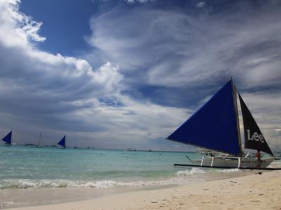 Plaża na wyspie Boracay