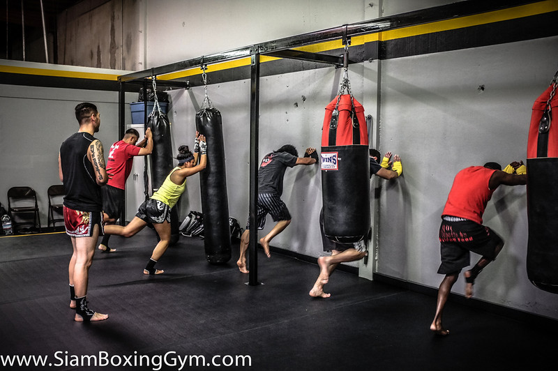 Muay Thai at Siam Boxing Gym