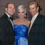 Wade Davis, Laura Wagner and Jeff Howard.