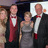 Stephanie and Royce Donovan, the new Queen's Mother Traci Stemmle and Uof L President Dr. James Ramsey