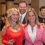 Doreen Barnhart DeHart, Mike DeHart and Jeaneen Barnhart.