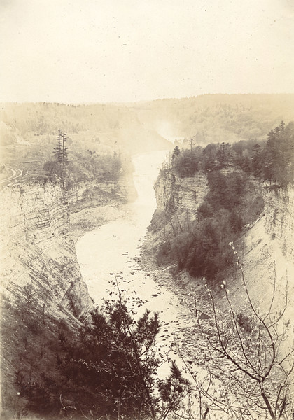 Inspiration Point Circa 1900 / Photo by Albert T. Hill