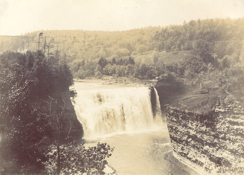 Middle Falls circa 1900 / Photo by Albert T Hill