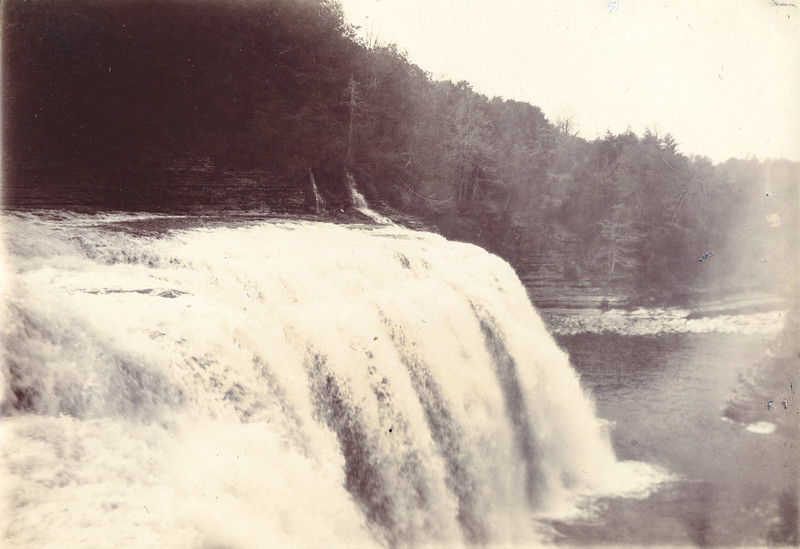 Unidentified Falls circa 1900 / Photo by Albert T Hill