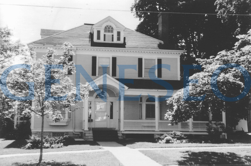 1955 President's House Acquired<br /> The College bought what became the President's House at 15 Main Street, which was built in 1897.
