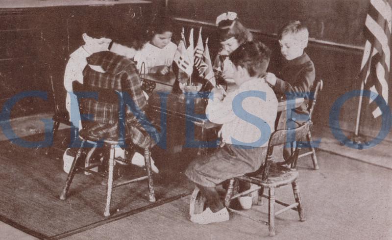 1907 Kindergarten-Primary Program Added. Increased kindergarten enrollment led to the February 23 1916 opening of an additional kindergarten, the Pestalozzi-Froebel House, on Court Street (Snap Shots 1918)