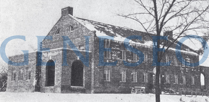 1922 Special Education Program Began<br /> Mandated by an act of state legislature in 1920, a program for preparing teachers of mentally handicapped children was implemented. The School of Practice and Demonstration at Craig Colony, an extension department, educated teachers of exceptional children. The specialization began to distinguish Geneseo after only six years. [photo of Craig Colony building, Mahood p94]